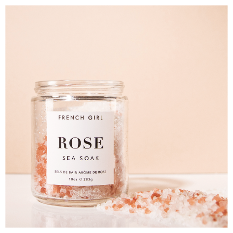 Rose Sea Soak - Calming Bath Salts
