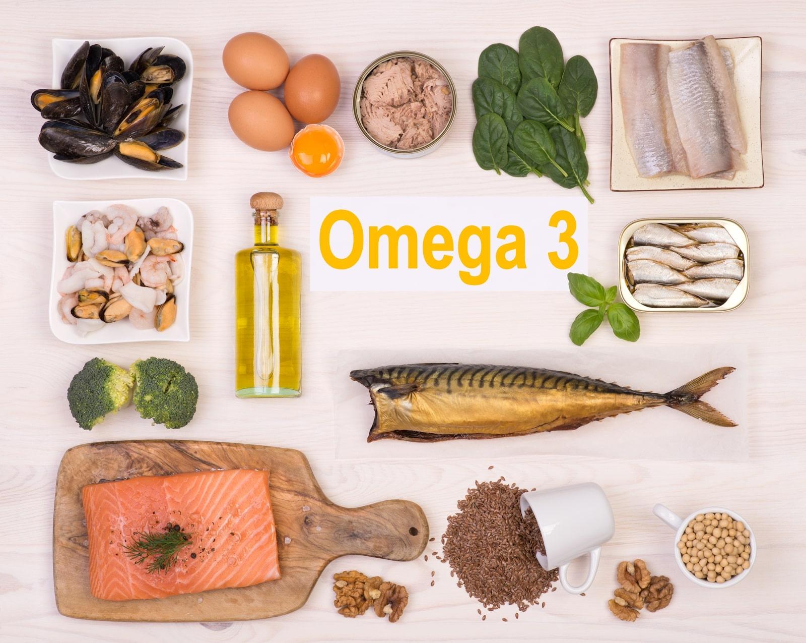 Thực phẩm giàu omega 3 bổ sung collagen hiệu quả