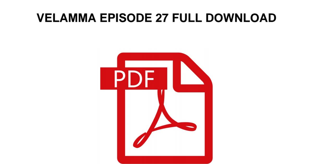 Velamma all episodes download
