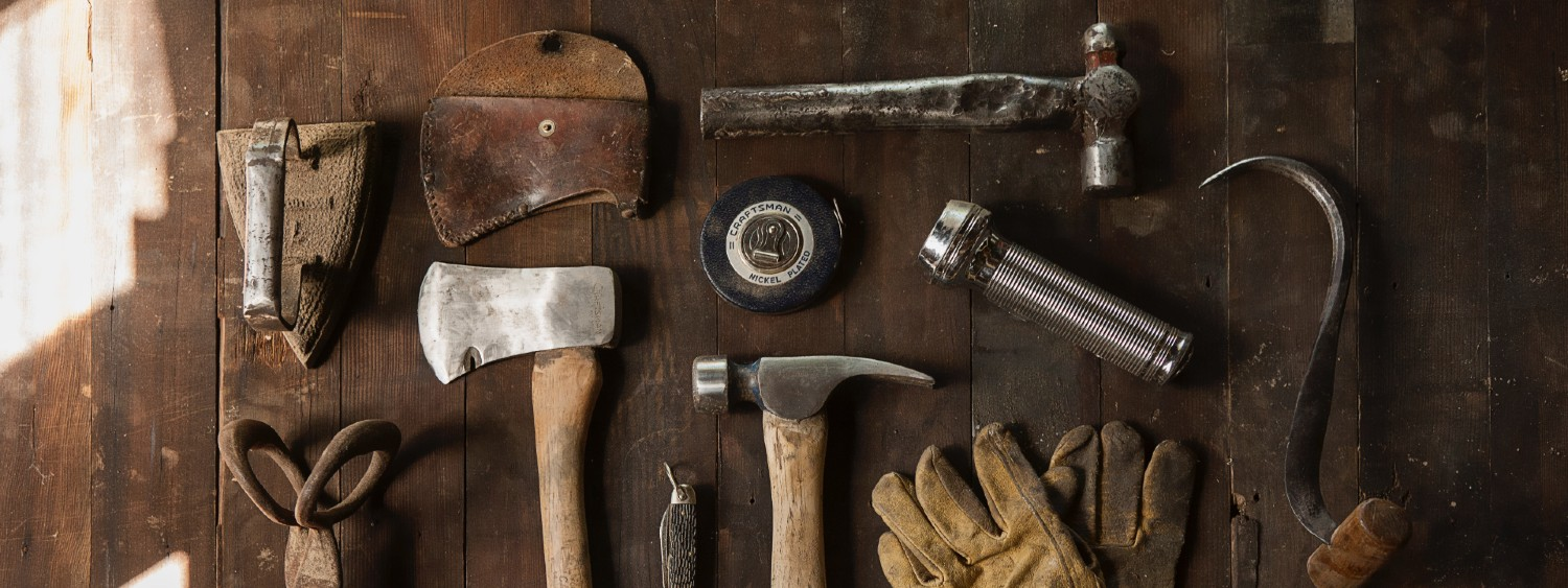 Identify the tools you need to do your job