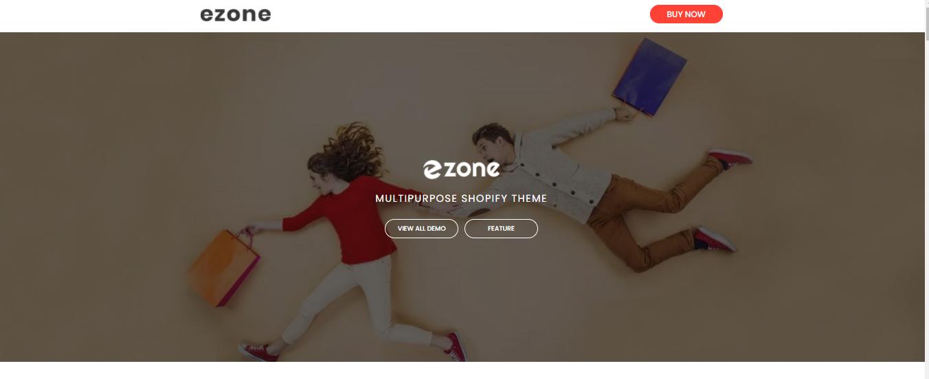 Ezone - Shopify bookstore theme