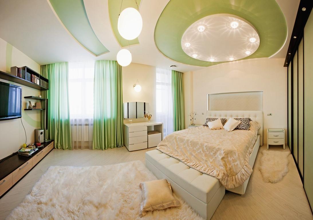 Chọn màu sắc mẫu trần thạch cao phòng ngủ theo phong thủy