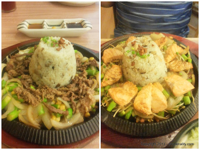 Sizzling U.S. Beef and Sizzling Salmon Sumo Sam - The Block , SM North Edsa