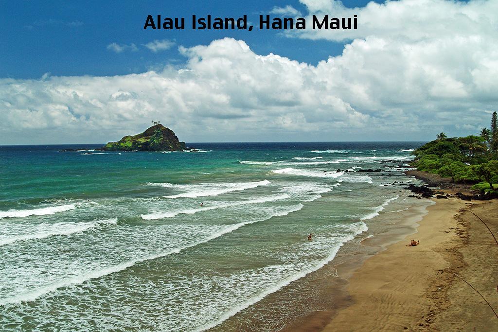 alau island, hamoa beach