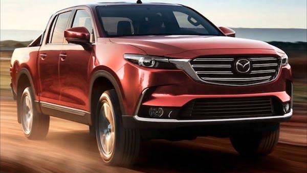 กระบะรุ่นใหม่ของ Mazda จะมีส่วนแค่ออกแบบรูปลักษณ์ภายนอกเท่านั้น เครื่องยนต์และตัวถังจะให้ Isuzu จัดการ