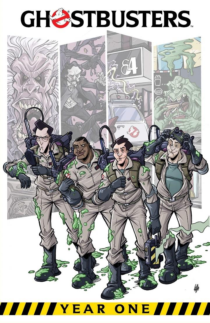 Amazon.com: Ghostbusters: Year One (9781684056965): Burnham, Erik,  Schoening, Dan: Books
