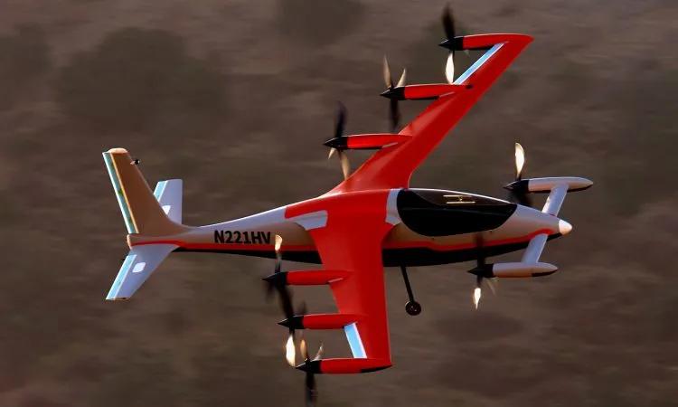 Kitty Hawk Heaviside drone