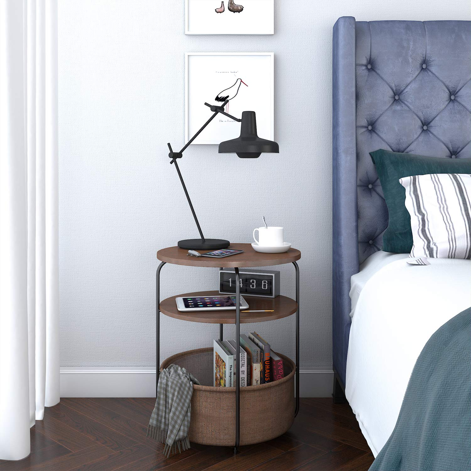 4 Bedside Table Ideas For Your Dorm Futon Living