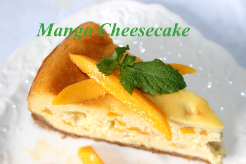 Slice of Mango Cheesecake..jpg