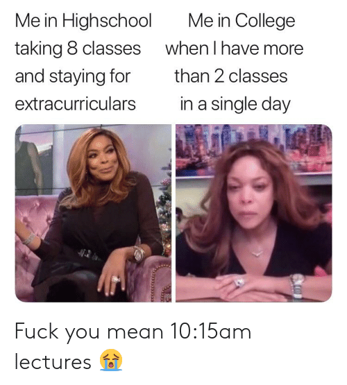 15am lectures 😭