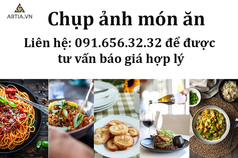 Dịch vụ chụp ảnh món ăn tại Hà Nội với Artia