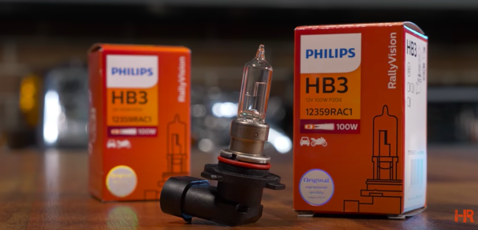 Is 100w halogen brighter than LED? - Philips HB2 Rally Vision