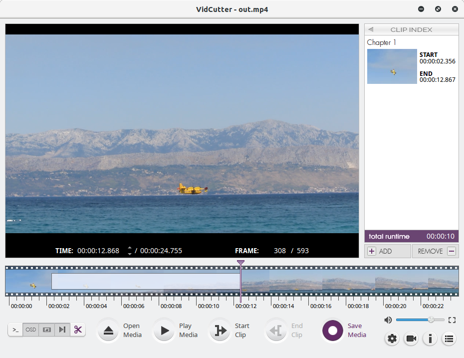 Make compelling videos with free software: Director's Cut