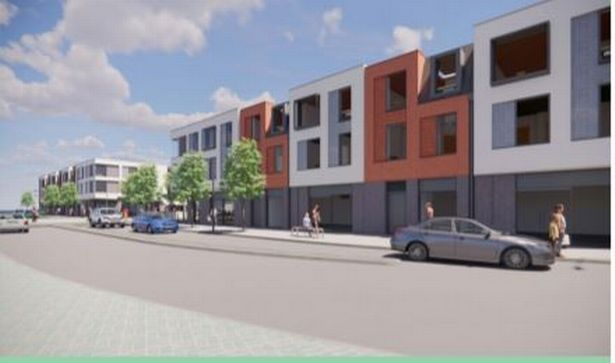 Artist impression of the proposed Cranbrook High Street
