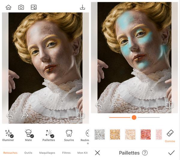 Maquillage pour la Journée de l'Abeille