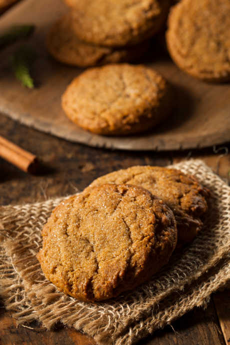 Molasses Recipes: Dark molasses helps make these festive cookies sweet and soft.