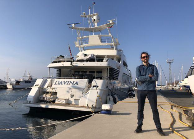 Яхта Davina и Джейми Бартлетт