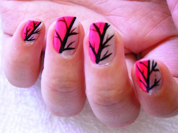 cute nail designs creem (1)