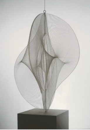 Naum Gabo (1890-1977)  Linear Construction No. 2