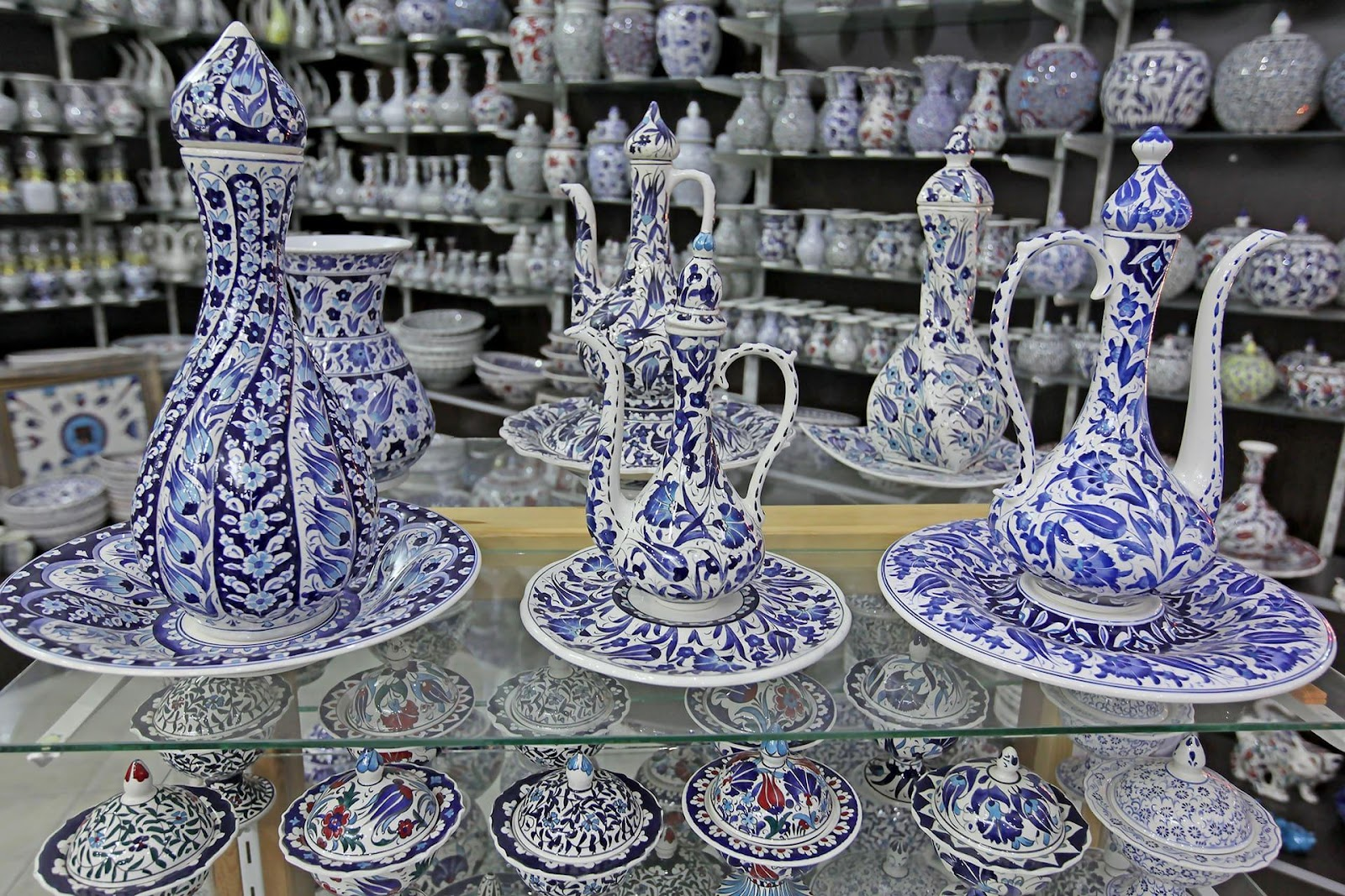 Bazar delle mattonelle di Kütahya