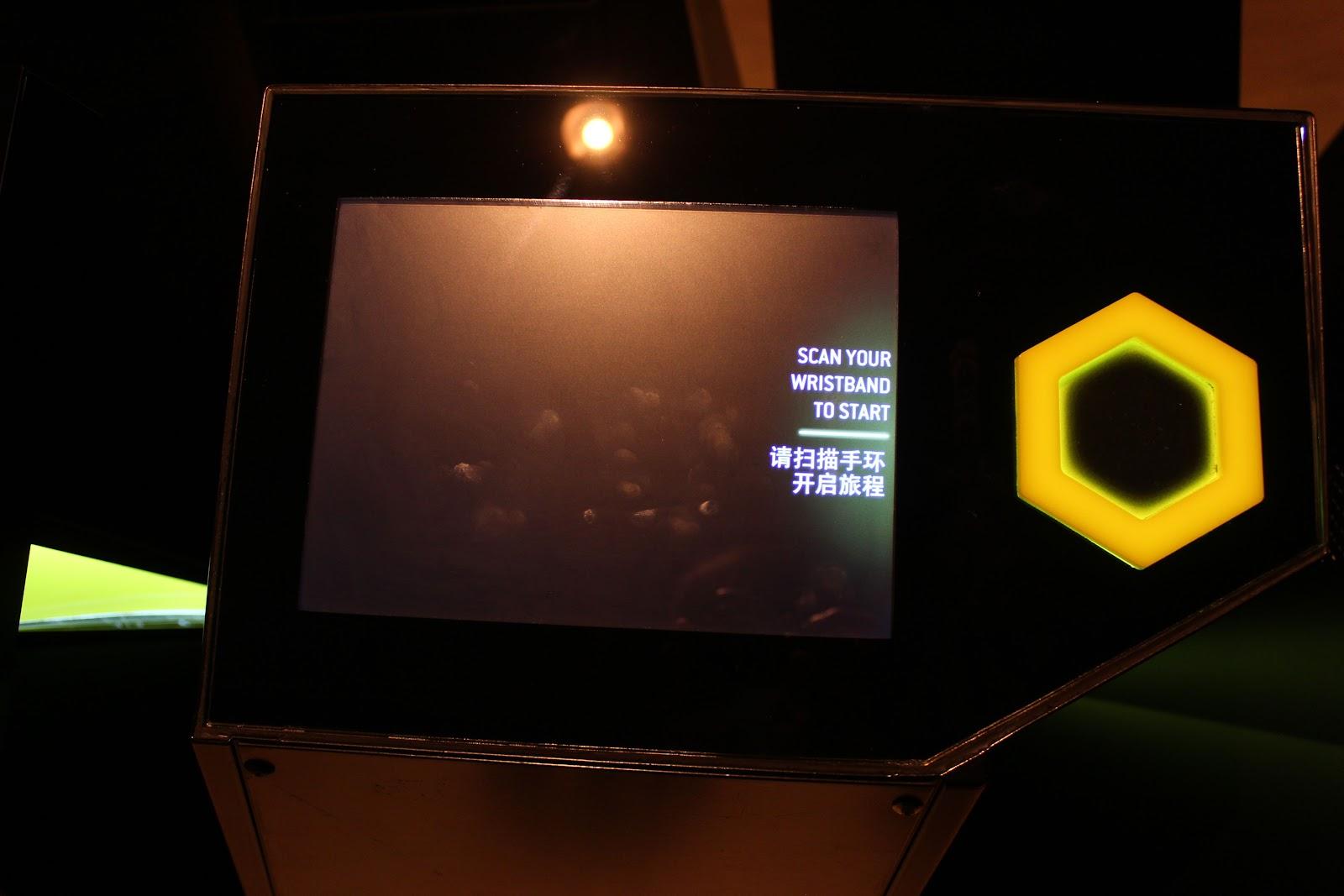 Display and RBFI interactive panel
