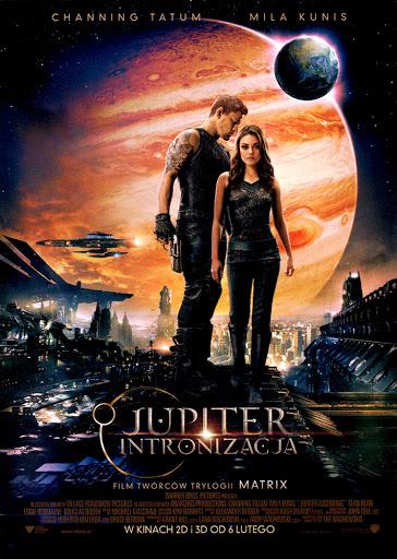 Przód ulotki filmu 'Jupiter: Intronizacja'
