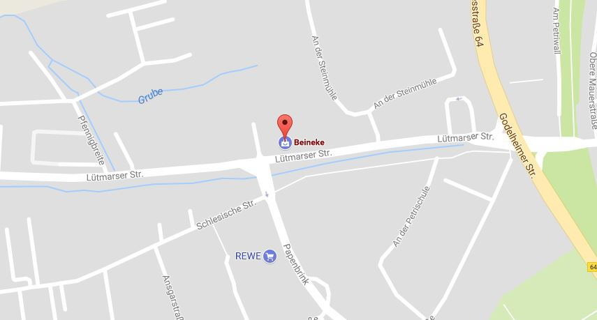 Beineke Automobile, Lütmarser Straße 26, 37671 Höxter (Bildquelle: Google Maps)