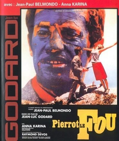 Pierrot el loco (1965, Jean-Luc Godard)