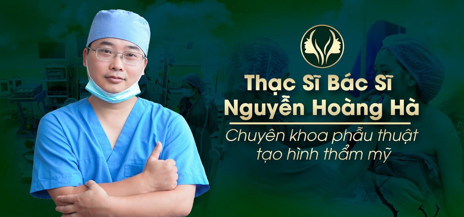 Trực tiếp ThS.BS Nguyễn Hoàng Hà tư vấn phẫu thuật khi khách hàng tới thăm khám trực tiếp