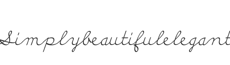 Simply Beautiful Elegant
