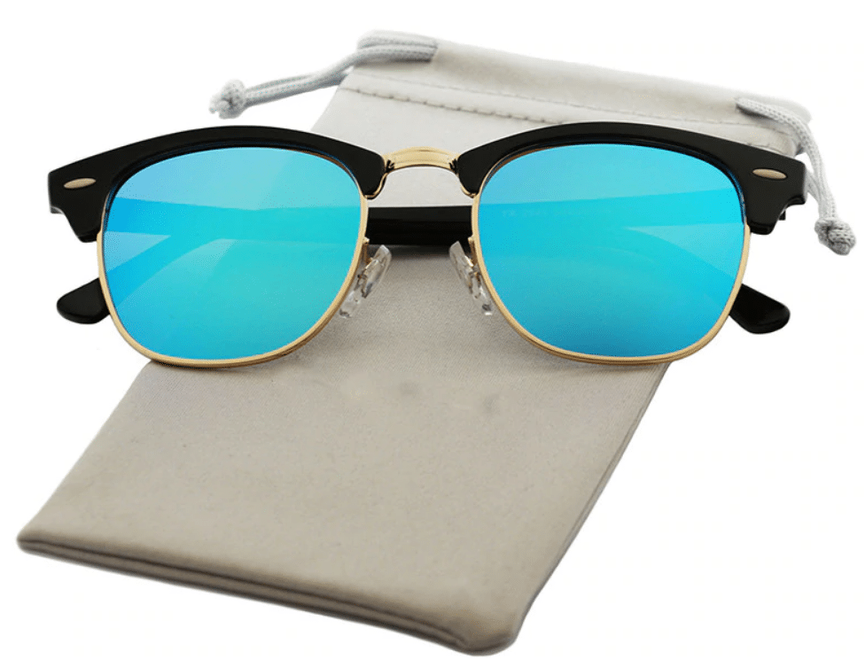 semi rimless sunglasses aliexpress