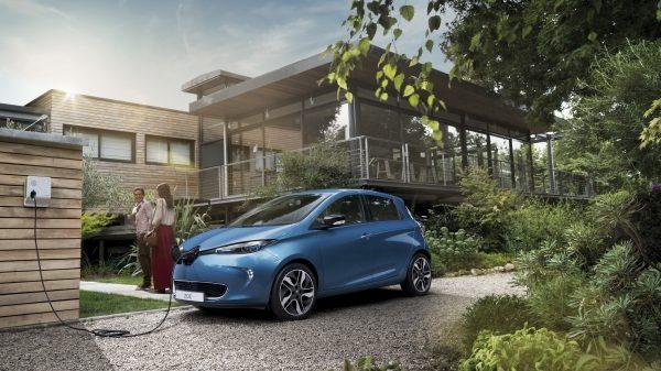 citadine électrique : Renault Zoé