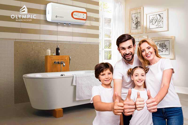 Mua bình nóng lạnh phù hợp với nhu cầu sử dụng của gia đình bạn