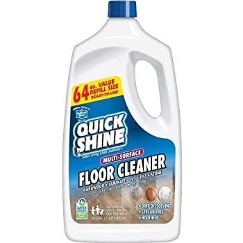 Quick Shine Multi-Surface Laminate Floor Cleaner
