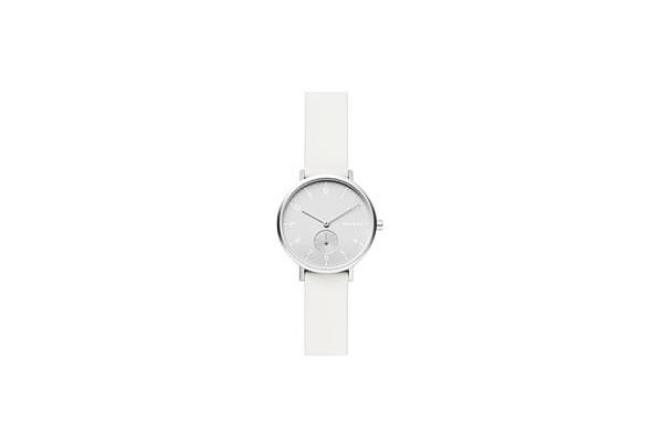 Skagen Aaren Kulr White Silicone Strap Watch from Bloomingdale's