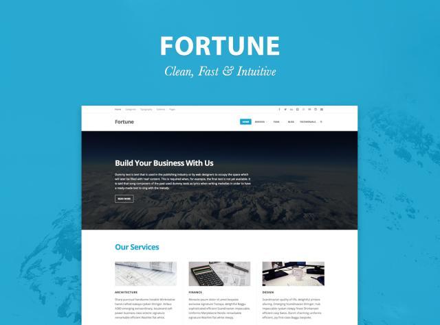 Fortune Theme — WordPress.com