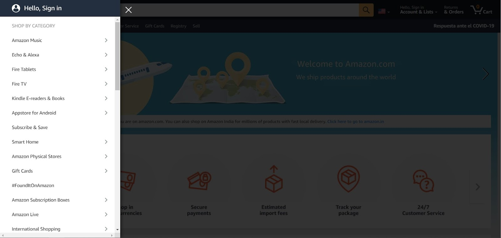 eCommerce store with MPAs