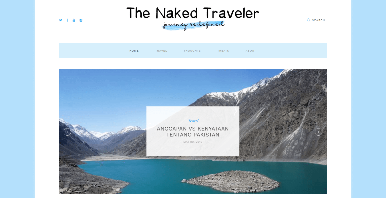 travel blogger indonesia terkenal naked traveler com