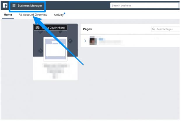 Manage Facebook businesses