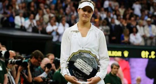 she is improved athlete in Tennis