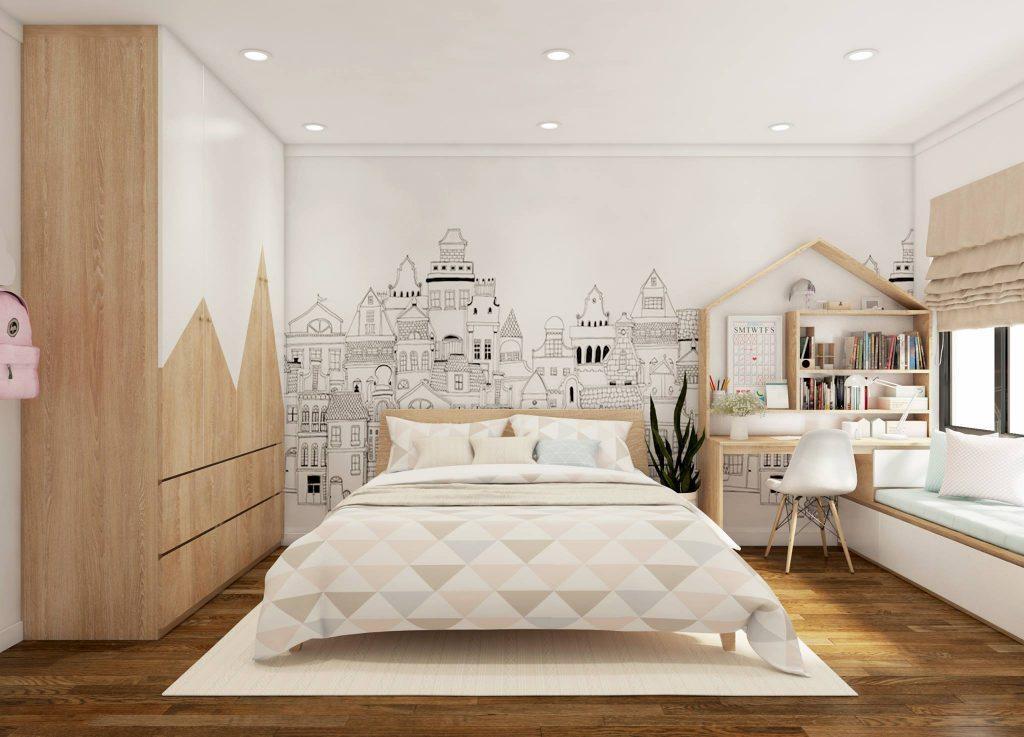 Màu sắc của chiếc giường cần phù hợp với những món đồ nội thất trong phòng ngủ