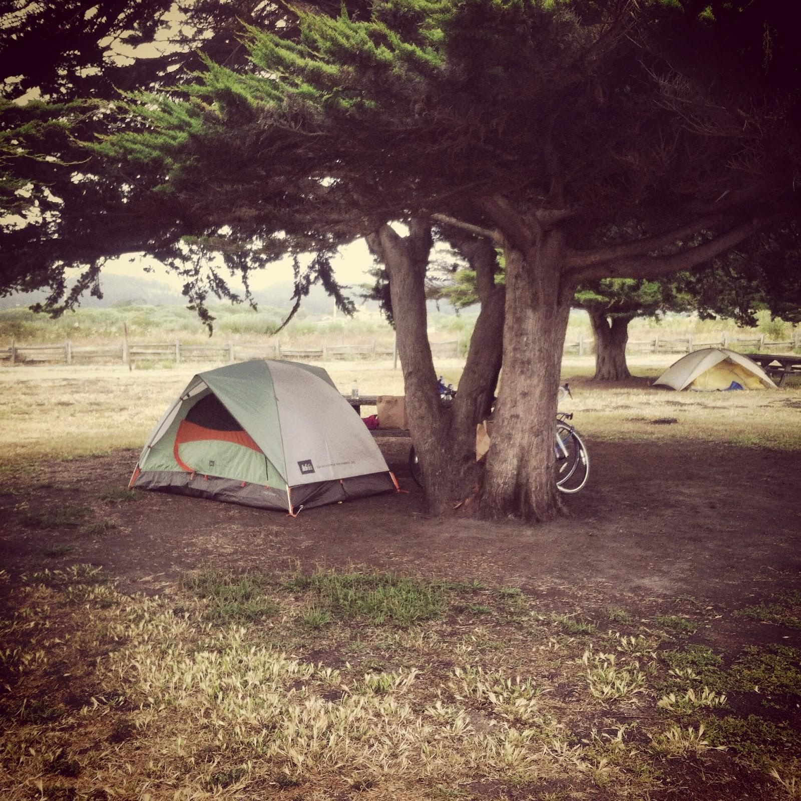 bike camping tent