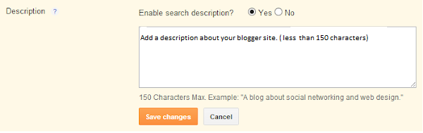 How to add Meta Description to Blogger & all Blog Posts?