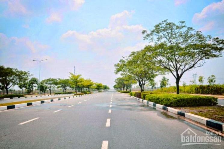 Bán lô J46 hướng Đông mặt tiền đường Mỹ Phước Tân Vạn.