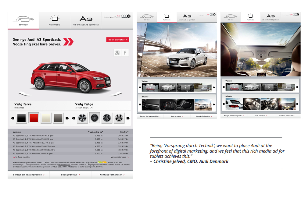 Rich media gallery for Doubleclick rich media templates