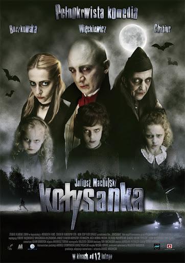Polski plakat filmu 'Kołysanka'