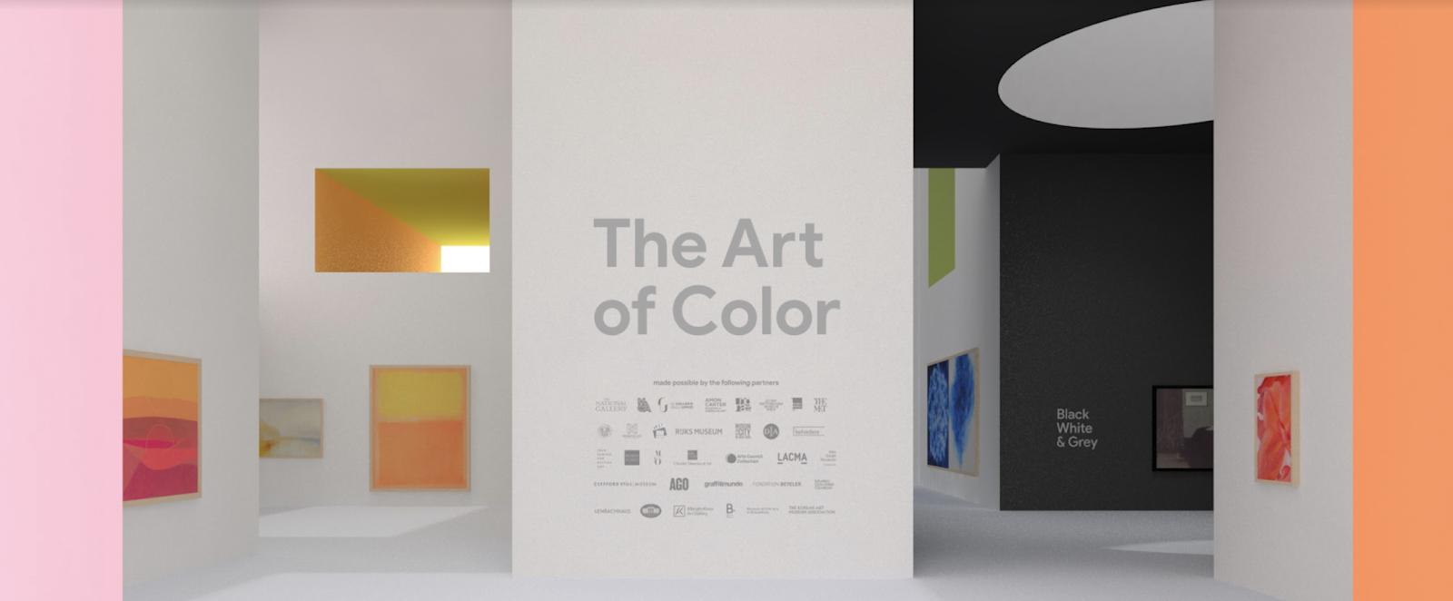 Explore arte e cor na mais recente galeria em Realidade Aumentada do Google Arts & Culture
