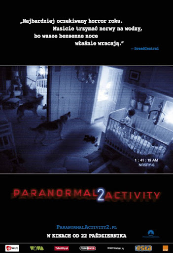 Polski plakat filmu 'Paranormal Activity 2'