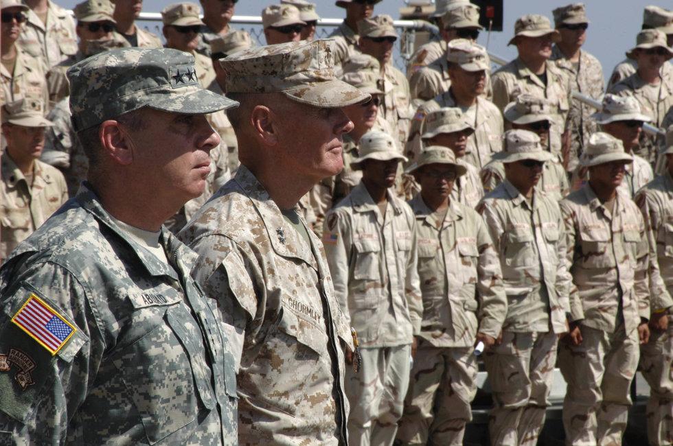 Marine Corps grunts vs. Army joes