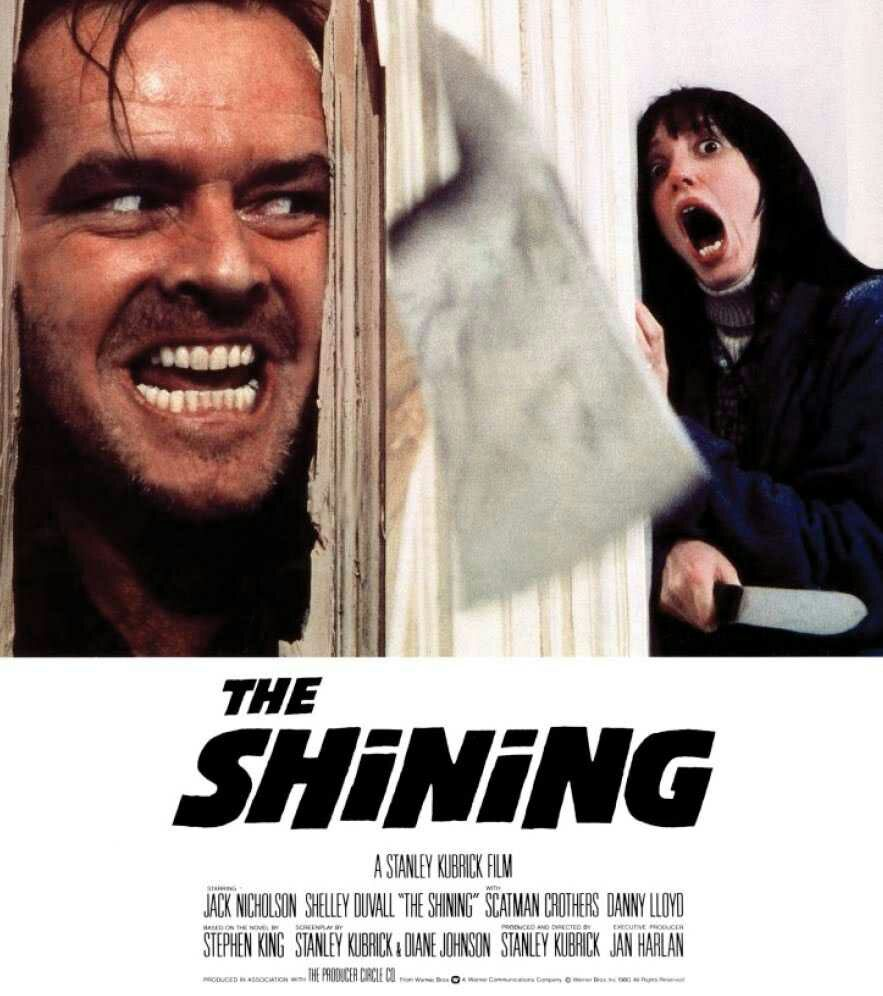 The Shining poster movie